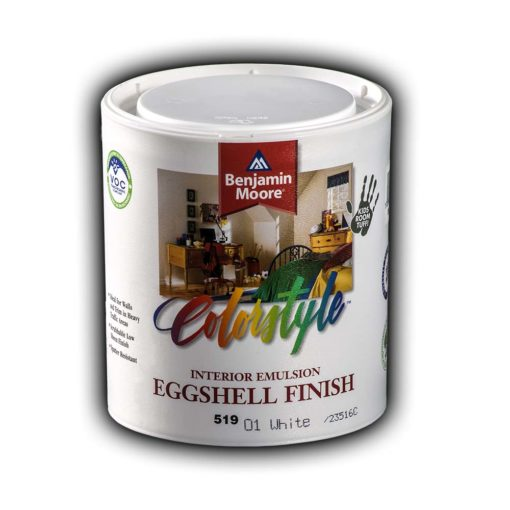 COLORSTYLE EGGSHELL EMULSION WHITE new