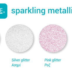 sparkling metallic glitter colors